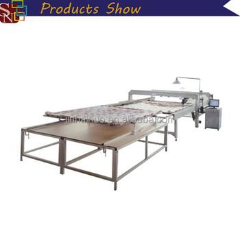 Full-automatic Single Needle Quilting Machine / Duvet Making ... : single needle quilting machine - Adamdwight.com