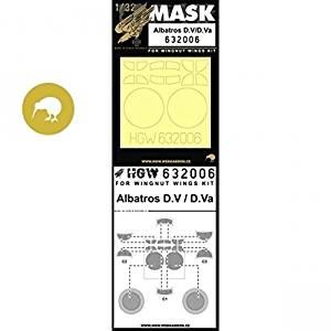 HGW 1:32 Rumpler C.IV for Wingnut Wings Kit Paint Mask Detail Set #632012