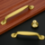 Factory Supply High Quality Kitchen Cabine Closet Drawer Solid Pure Brass Furniture Handles And Knobs