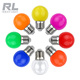Colorful E27 G45 holiday decorative led light bulb 2W PC cover mini residential night bar color bulb lamp G45 christmas bulb