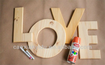 Decorative Wooden Letters Love Letter Wooden Block Letter Diy Wooden