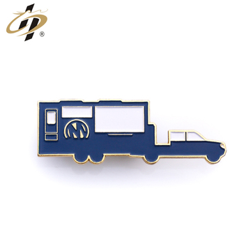 Cheap fashion trucks design cartoon cute car lapel pins for wholesale