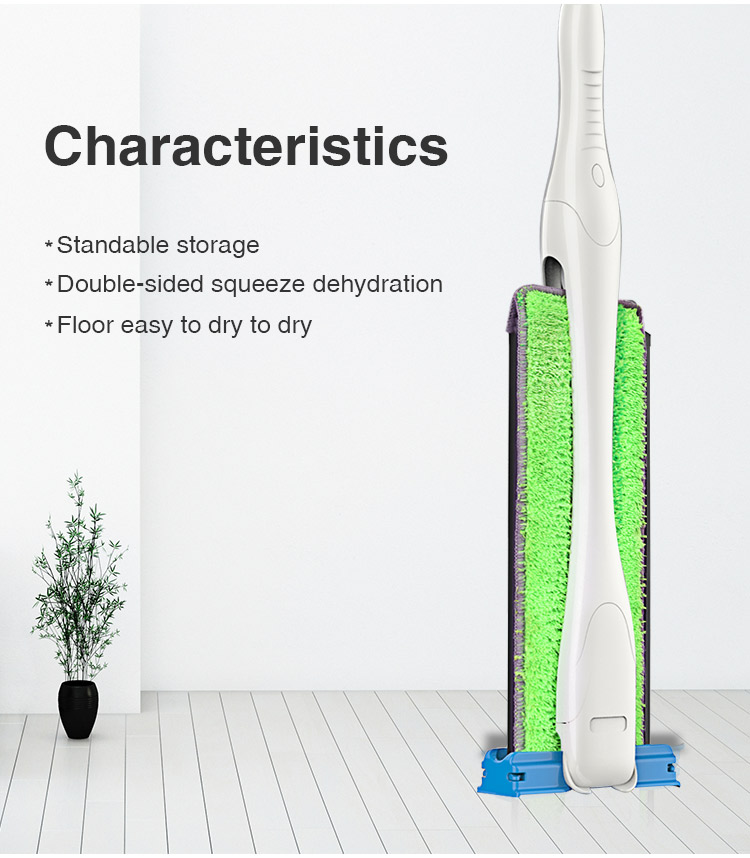 Boomjoy 360 Lazy Mop Easy Life Double Sides Squeeze Cleaning Mop