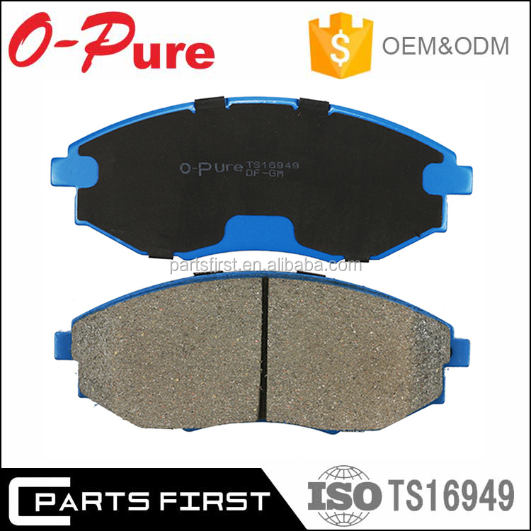 Wholesale Auto Parts Car NAO Ceramic Front Rear Brake Pad Break Pads For GM CHEVROLET with ISO/TS 16949 E-mark