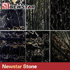 High quality black & golden marble