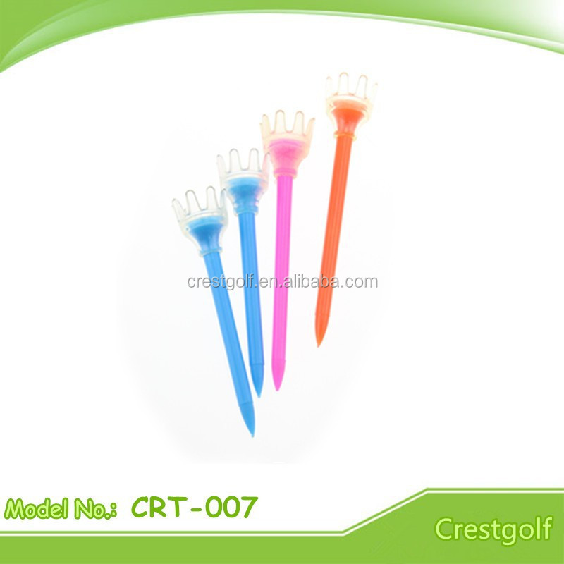 Golf Accessory Plastic Crown Golf Tees Distributor
