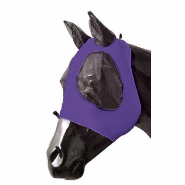 FLY MASK for Standard Size <strong>HORSE</strong> WITH COVER EARS Sun Protection