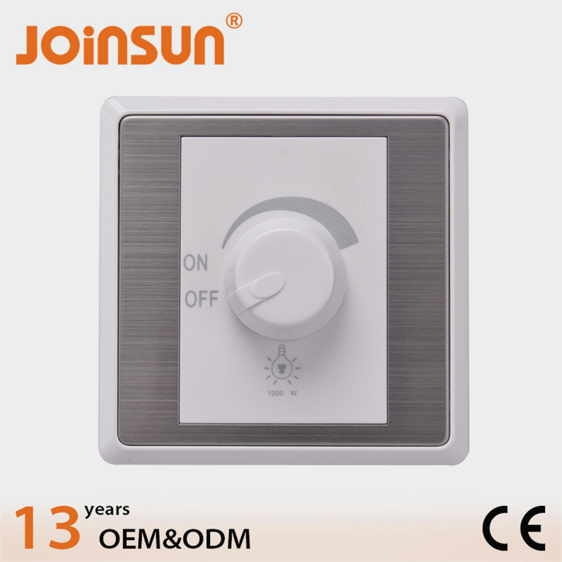 Good design 1000w dimmer wall switch,wiring ceiling fan switch,ceiling fan pull switch