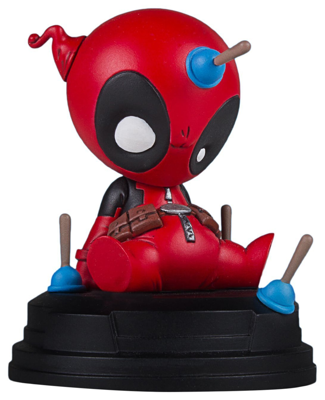 Gentle Giant Deadpool Marvel Animated Statue, Full Color, 8 x 2 x 2.5""