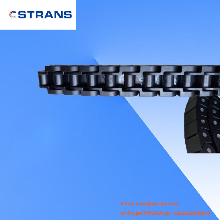 40P Transmission electron industry closed top plate chain