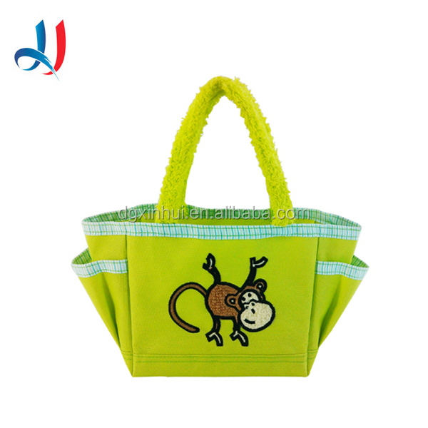 Exclusive Mini Polyester Tote Channel Bags European Fashion Branded Tiny Bag With 100% Cotton Handle