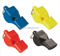 Good Quality Loud Plastic Trumpet Flat Plastic 3-tone Referee Whistle Dog Whistle