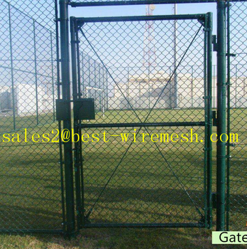 Used Chain Link Fence Gate Double/single Swing Gate - Buy Chain Link Fence  Gates,Double Swing Chain Link Fence Gate,Single Swing Chain Link Fence Gate