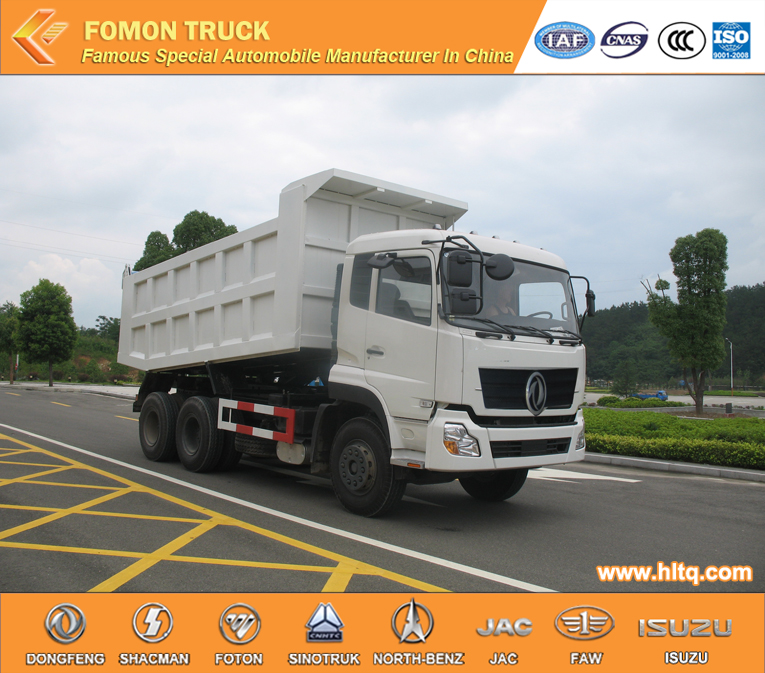 Factory Direct Hot Sale DONGFENG 6X4 210 hp Automatic dumping truck