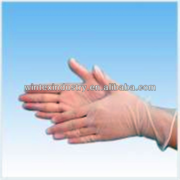 Disposable Vinyl Gloves In Health&medical Manufacture;Powder Free examin vinyl glove