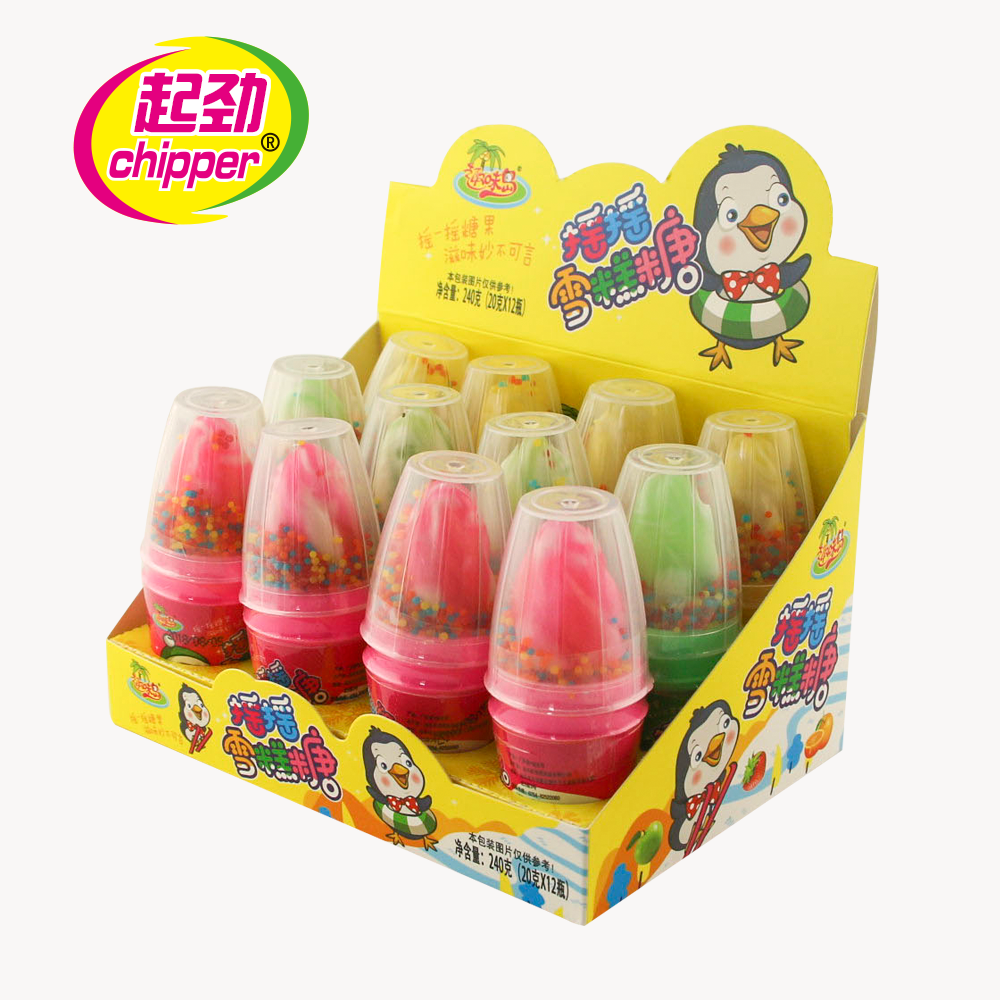 Mini Süße Candy Baby Nippel Candy lollipop mit Popping Candy
