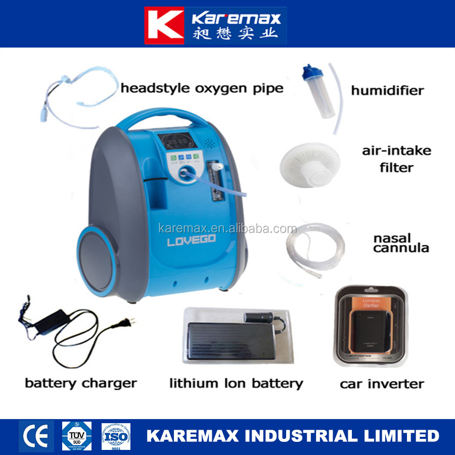 hot sell mini battery oxygen concentrator portable with cheap price