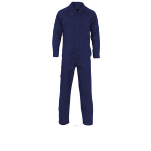 Dark blue colors 100% cotton Industrial Coveralls Dubai