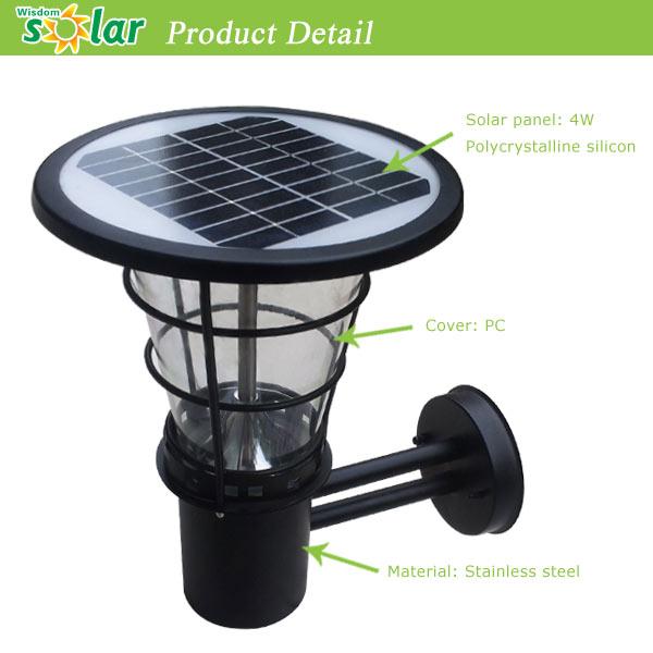 Solar Power Wall Light Fence Led Outdoor Light For Artificial Grass Led  Sensor Light Outdoor(