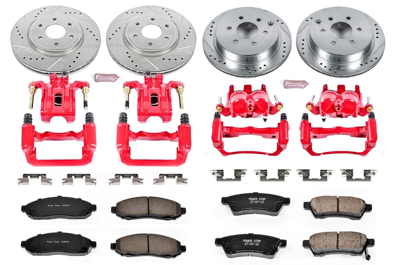 Rear Z23-961 Power Stop Z23 Evolution Sport Brake Pads