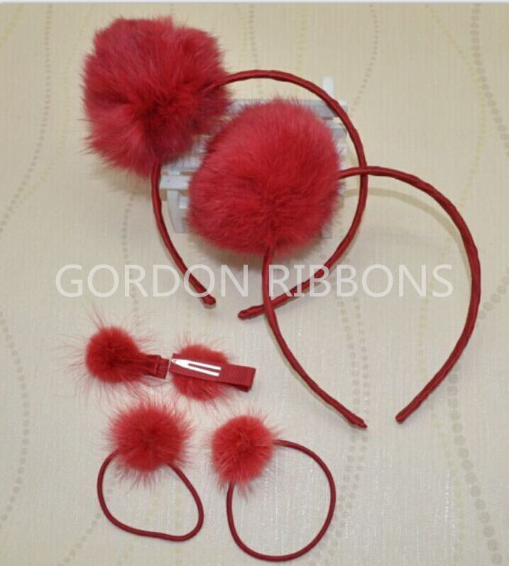 Pom Poms hair band