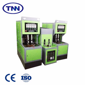 Semi-auto blow molding machine for blowing PET bottle with PET preform used for plastic bottle water