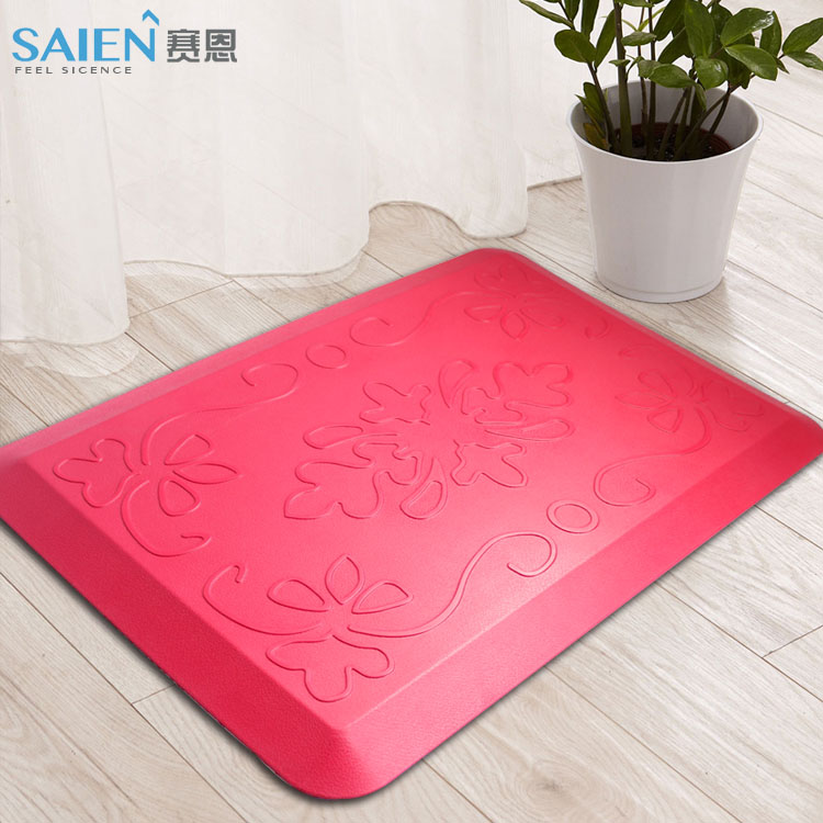 New PU waterproof kitchen mat