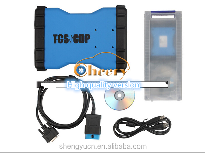 The new CDP TCS PRO + OBD2 Truck fault detection tools Detector with Bluetooth plastic boxes