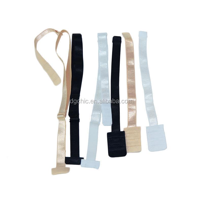 55e2acd4abd5b Wholesale Lady s Low Back Bra strap Converter bra Straps 2 Hook Black White  Beige