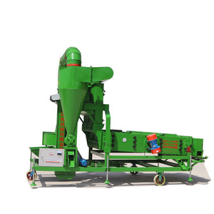 Soybean Lentils Chickpea Grain Paddy Rice Seed Cleaning Machine