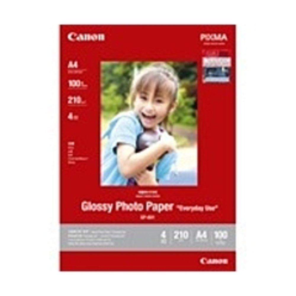 Canon GP-601 Photo Paper - 4 x 6 - 210 g/m178; Grammage - Glossy - 98 Brightness - 100 Sheet