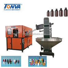 Fully automatic plastic PET water bottle blow molding machine with 4 cavity best price