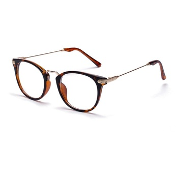 metal square lenses optical glasses frame men half frame reading glasses with wide temple - Wide Frame Reading Glasses