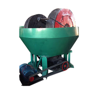 China Wet Pan Mill for Gold Selection