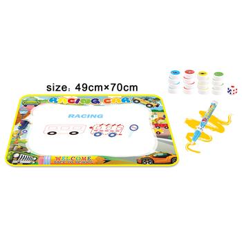 Yeni ürünler çocuklar çizim Oyuncak Sihirli Su Boyama Doodle Mat