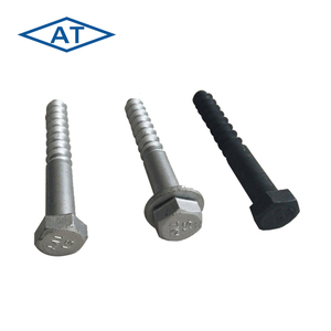 Rail screw spikes/ railway fastener/track spikes