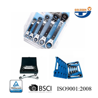 Fast Delivery High Quality Double Offset Ring Combination Spanner Wrench Set