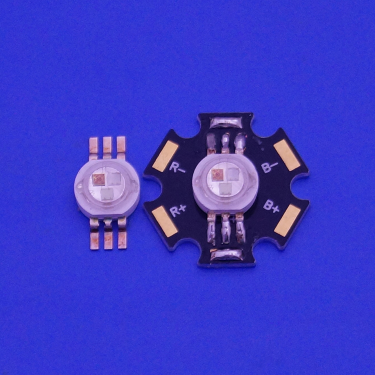 High Power 9w 3w Rgb Led Chip with SMT Solder Technology