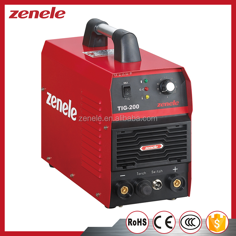 1phase Inverter welder machine TIG-200 tig <strong>welding</strong>