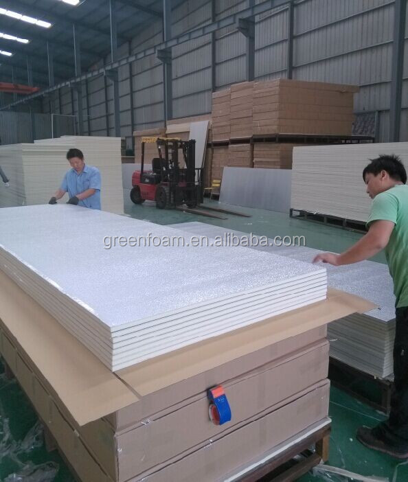 Good Quality Polyurethane Pre-insulated Duct Panel for Central Air Conditioning duct