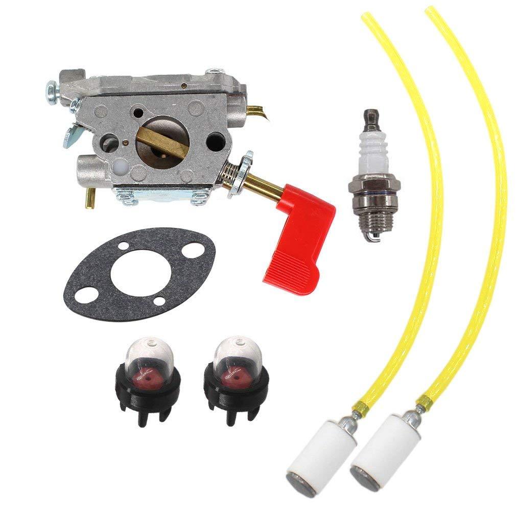 Get Quotations · AISEN Carburetor Gasket for 545006017 Poulan Craftsman  Trimmer Zama C1U-W32 PP136E PPB100E PPB150E PPB200E