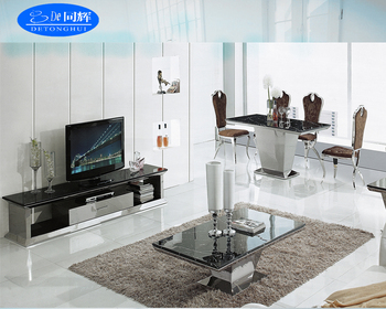 TV 841modern Design Granite Living Room Sets Stand Dining Table Tea