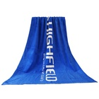 Wholesale Bulk 100% Cotton Custom Reactive Printing Promotion Beach Towel With Logo