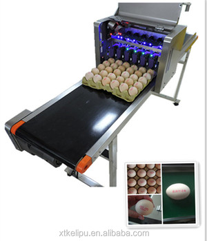 600DPI Hot Sale high speed Egg Inkjet Printer