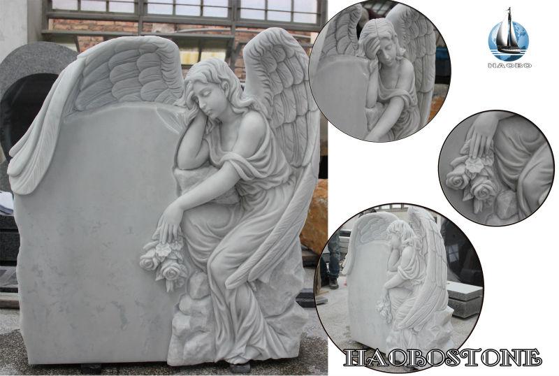 Angel Headstone Large Feather Angel Wings Buy Angel