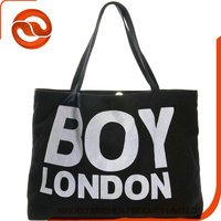 Personal Logo Printed Promotion Cotton Canvas Custom Tote Bag For Handbag With Wholesale Price