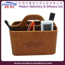 Faux Leather Multi-function Desk Organizers