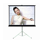 2019 popular Tripod screen / easy portable tripod projector screen/Auto-lock smoothly stand tripod