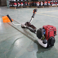 0.85kw side attached 4 strokes gasoline grass trimmer weed eater attachments