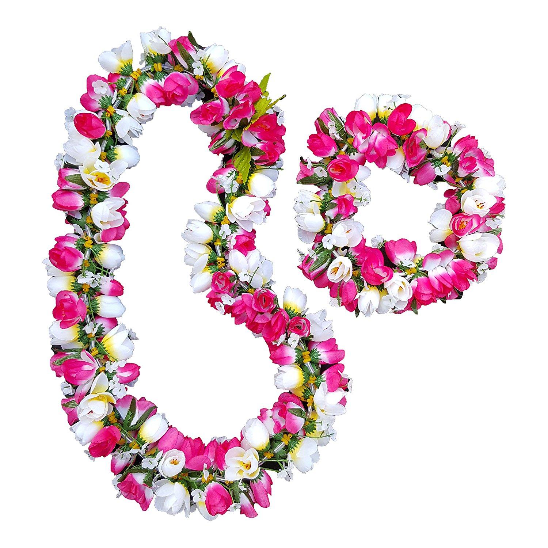 Buy silk rose lei rose haku hawaiian lei hawaiian haku hawaiian silk rose lei rose haku hawaiian lei hawaiian haku hawaiian wedding lei hawaiian party izmirmasajfo